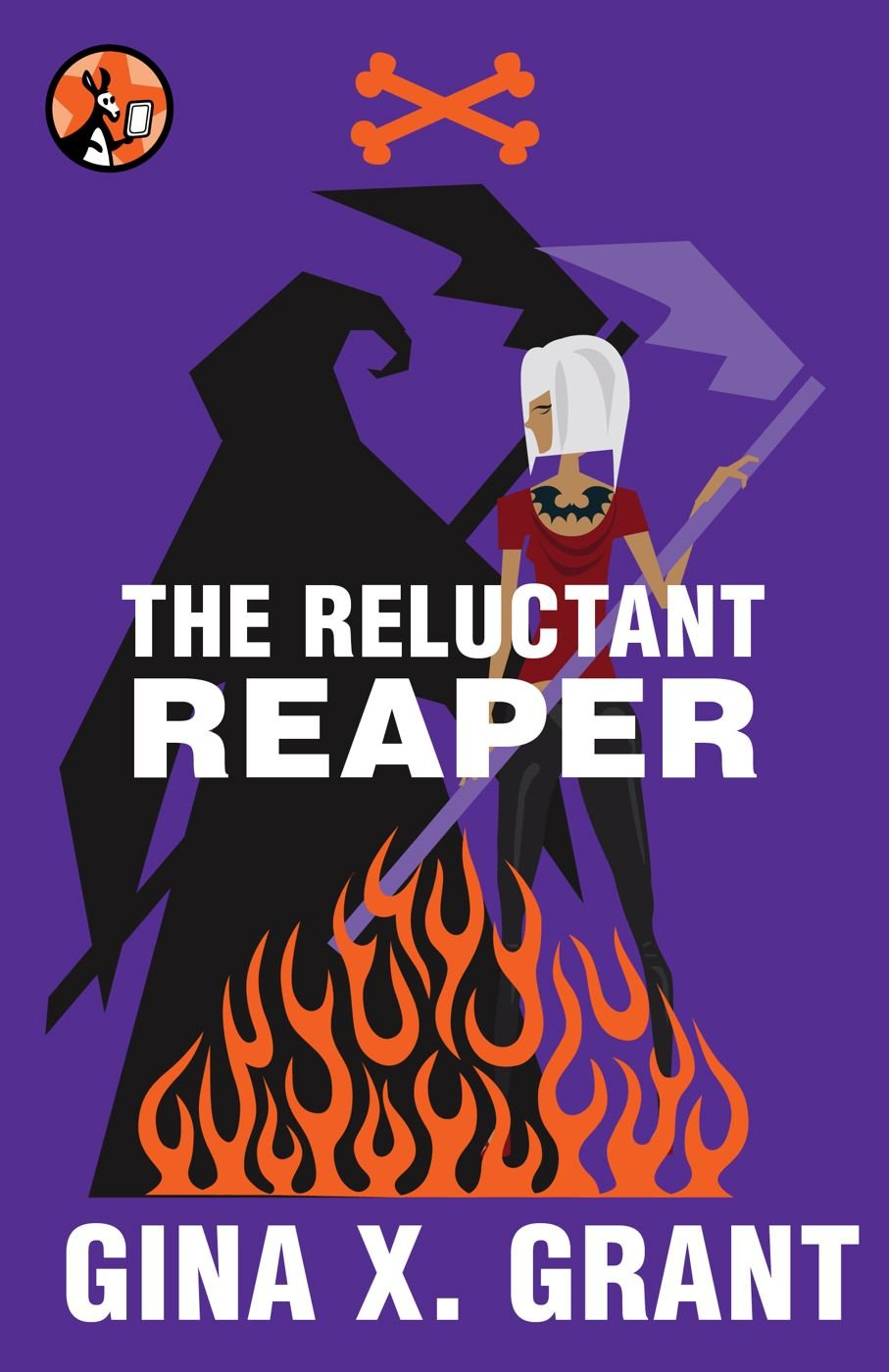 Ten Questions About The Reluctant Reaper, By Gina X. Grant