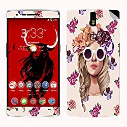 Theskinmantra Filmsy rush SKIN/STICKER for OnePlus One