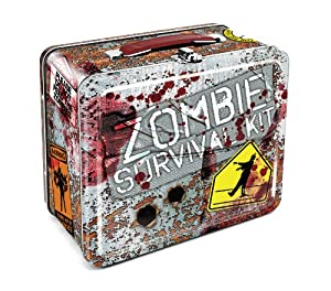 Aquarius Zombie Survival Tin Lunch Box