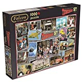 Falcon de Luxe Thunderbirds 50th Anniversary Jigsaw Puzzle (1000 Piece) by Jumbo Games [並行輸入品]