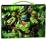 Turtles - Maletín polipropileno, color verde (Montichelvo 20674)