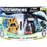 Transformers 3 Dark Of The Moon Movie Exclusive Cyberverse Legion Class Action Figure 2Pack Bumblebee Vs. Megatron...