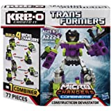 KRE-O Transformers Micro-Changers Combiners Construction Devastator Set (A2224)