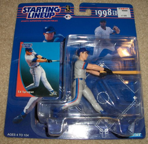 1998 Ed Sprague MLB Starting Lineup Figure