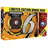 Bridgestone Golf 2013 E6 with B330 RX Bonus Sleeve Golf Balls (Pack of 15)