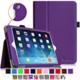 iPad mini Case - Fintie iPad mini 3 / iPad mini 2 / iPad mini Folio Slim Fit Vegan Leather Case with Smart Cover Auto Sleep / Wake Feature, Violet