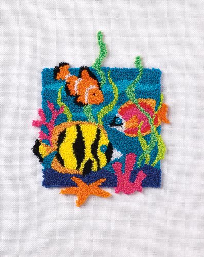 Dimensions Crafts - Dimensions Needlecrafts Punch Needle, Tropical Fish
