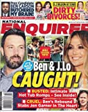 img - for October 19, 2015 National Enquirer Ben & J. Lo Caught! Presidential Candidate Ben Carson Butchered My Brain! Dirty Celebrity Divorces! book / textbook / text book