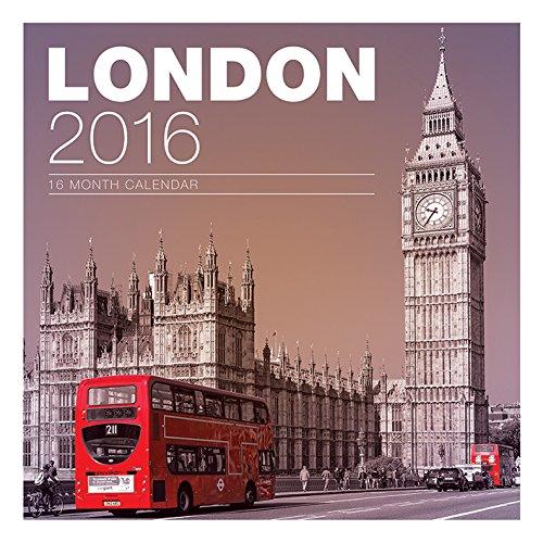 London Official 2016 Calendar (Square)