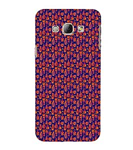 EPICCASE chocolates Mobile Back Case Cover For Samsung Galaxy A5 (Designer Case)