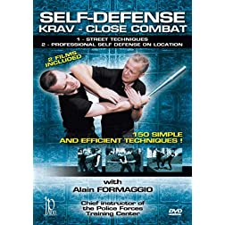 Self-Defense - Krav - Close Combat Street Fighting Techniques