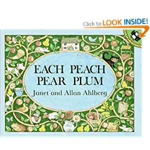 Each Peach Pear Plum (Picture Puffin) Janet Ahlberg and Allan Ahlberg