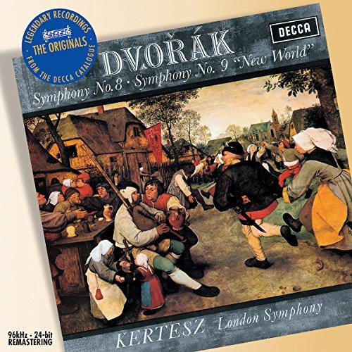 Dvorák: Symphonies Nos. 8 & 9 (Dvorak Symphonies Kertesz compare prices)