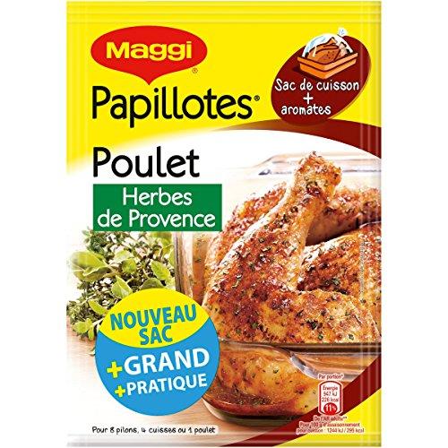 maggi-assaisonnement-volaille-papillotes-de-poulet-herbes-de-provence-34-g-lot-de-8