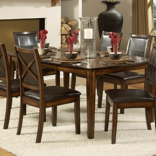 Buy Low Price Homelegance Dining Table of Verona Collection by Homelegance (727-72)