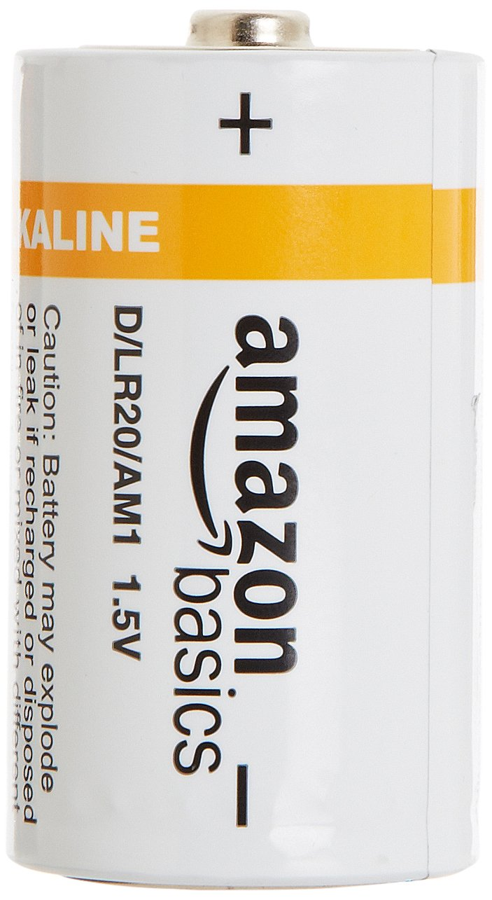 AmazonBasics Everyday Alkaline Batteries
