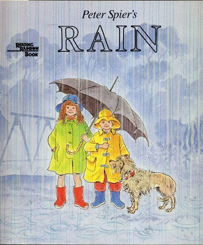 PETER SPIER'S RAIN (Reading Rainbow Book) by Spier, Peter (1987) Paperback (Peter Spier Rain compare prices)