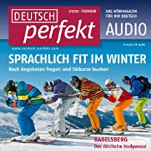 Deutsch perfekt Audio - Im Winter. 2/2012 Audiobook by  div. Narrated by  div.