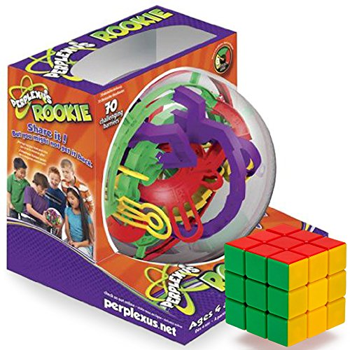 The Rookie Brain-Bending Bundle: Perplexus Rookie and a Brybelly Puzzle Cube (Space Jam Puzzle compare prices)