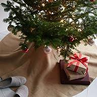 Firefly Imports Christmas Burlap Tree…