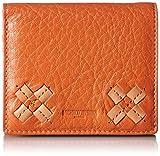 [ミチコロンドン] MICHIKOLONDON 2つ折財布 ボックス型小銭入れ レディス MJ5921 OR (オレンジ)