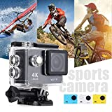 Sport Cameras Waterproof Ultra 4K HD 1080P WIFI Camcorder DV for Car Bicycle  Motorcycle Outdoor X-sports Diving
