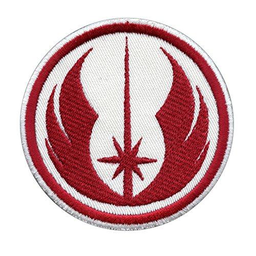 Star Wars Jedi Order Red Embroidered Sew Termoadesiva Toppa Patch