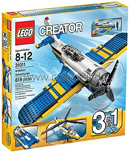 LEGO Lego Creator - L\'avion de collection - 31011 + Creator - Le ...