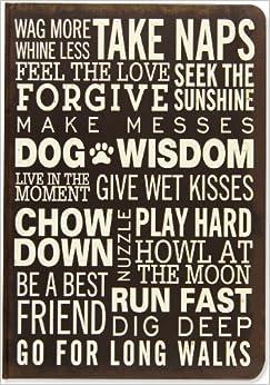 Dog Wisdom Journal -- Subway Art (Diary, Notebook): Peter Pauper Press