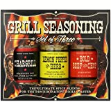 Pepper Creek Farms BBQ Seasoning and Grilling Set, 10.3 Ounce