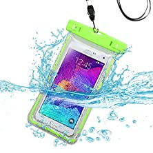buy Avarious Waterproof Pouch Bag For Samsung Galaxy S5 Sport, 5.1-Inch, Apple Green