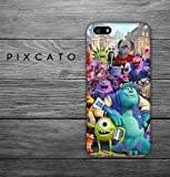 Mike, Sulley and Friends - Monster University 05 - Iphone 4/4S Case - 3D Iphone Case - Hard Plastic Case