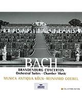Bach : Concertos Brandebourgeois / Suites pour orchestre (Coffret 8 CD)