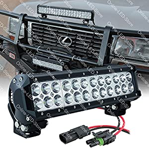 "LAMPHUS CRUIZER 12"" 72W CREE LED Offroad Jeep Polaris 4x4 Lightbar Lighting (OTHER SIZES AVAILABLE) - Flood"