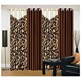 IWS Designer Set of 4 Window Curtain - 4 x 9 ft