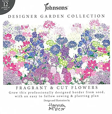 Designer Collection of  Fragrant and Cut Flowers with Planting Plan OGD250