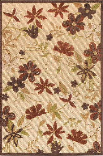 Botanical Area Outdoor Area Rug I, 2'3