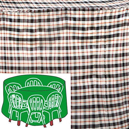 Gärtner Pötschke Sitzgruppen-Schutzhülle, beige, rund, groß jetzt kaufen