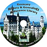 Germany History & Genealogy, German on DVD -52 Books Ancestry,records, Families,