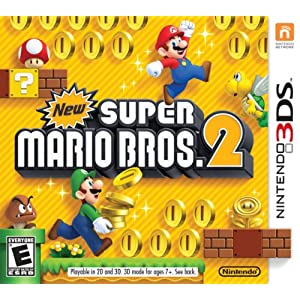 New Super Mario Bros 2 Nintendo 3DS Game
