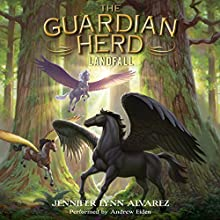 Landfall: The Guardian Herd Series, Book 3 Audiobook by Jennifer Lynn Alvarez Narrated by Andrew Eiden
