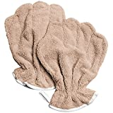 Microfiber Dog Drying Mitts - 2 pack