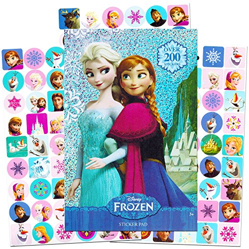 Disney Frozen Stickers - Over 200 Stickers - Elsa, Anna, Olaf, and Kristoff - 1
