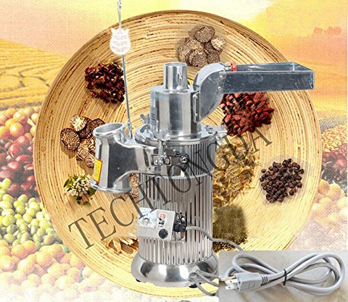 TECHTONGDA Electric Hammer Mill Herb Grain Grinder Pulverizer Powder Grinding Machine 170139