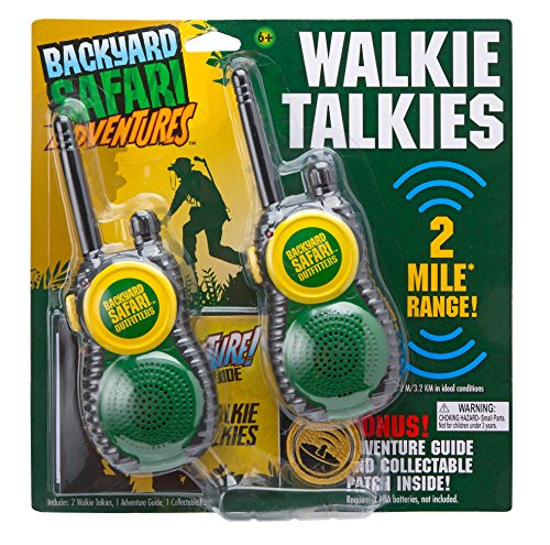 Backyard Safari Radioline Walkie Talkies