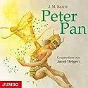 Peter Pan Hörbuch von James Matthew Barrie Gesprochen von: Jacob Weigert