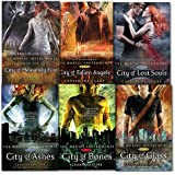 Cassandra Clare Mortal Instruments 6 Books Collection Pack Set RRP: £55.95 (City of Bones Book 1, City of Ashes Book 2, City of Glass Book 3, City of Fallen Angels Book 4, City of Lost Souls Book 5, City of Heavenly Fire Book 6)