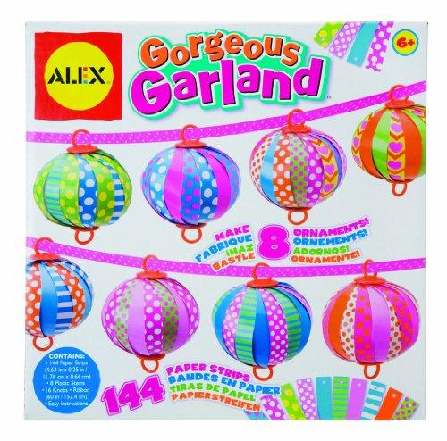 Imagen principal de Alex 01872 - 8 guirnaldas para personalizar tiras decorativas [importado de Alemania]