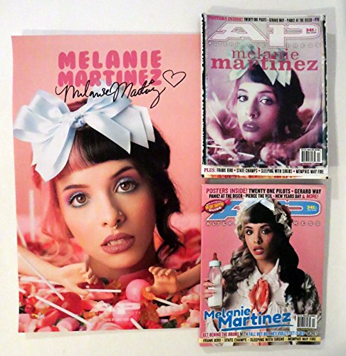 Melanie Martinez REAL hand SIGNED 11x17 Alt Press Poster + Magazines Autographed (Alt Press Magazine compare prices)