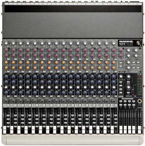 Mackie 1604-VLZ3 16-Ch./4-Bus Compact Recording/SR